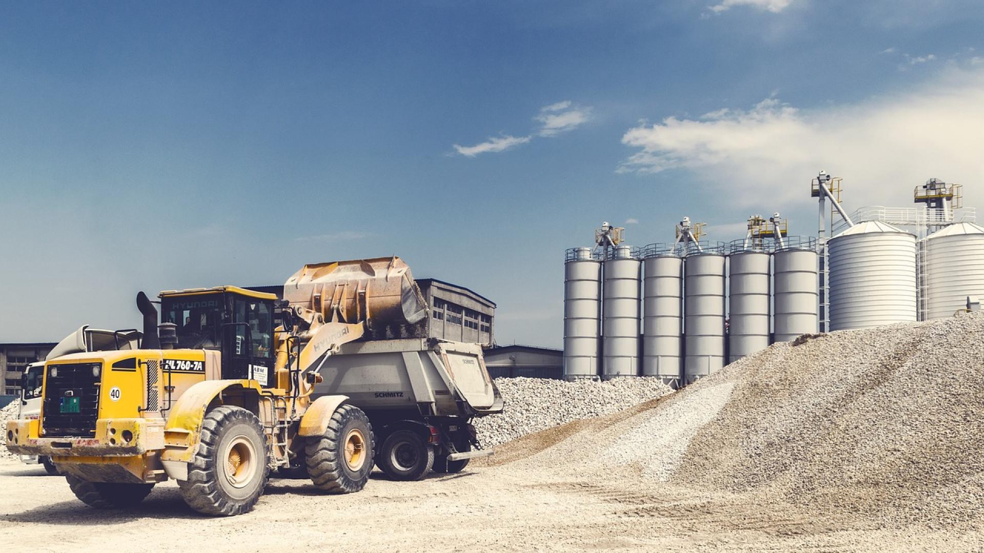 Des installations complètes pour le silo à grains